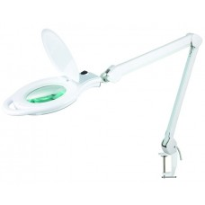 Модель 8060LED-A-U, 8060LED-U лампа-лупа со светодиодной подсветкой на струбцине